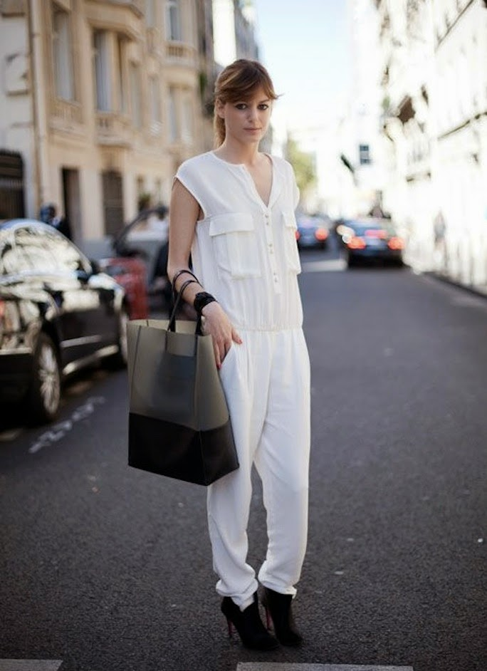 white-jumpsuit-street-style