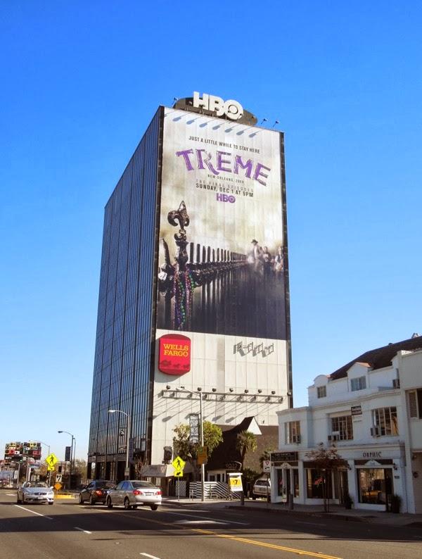 Giant Treme final season 4 billboard Sunset Strip