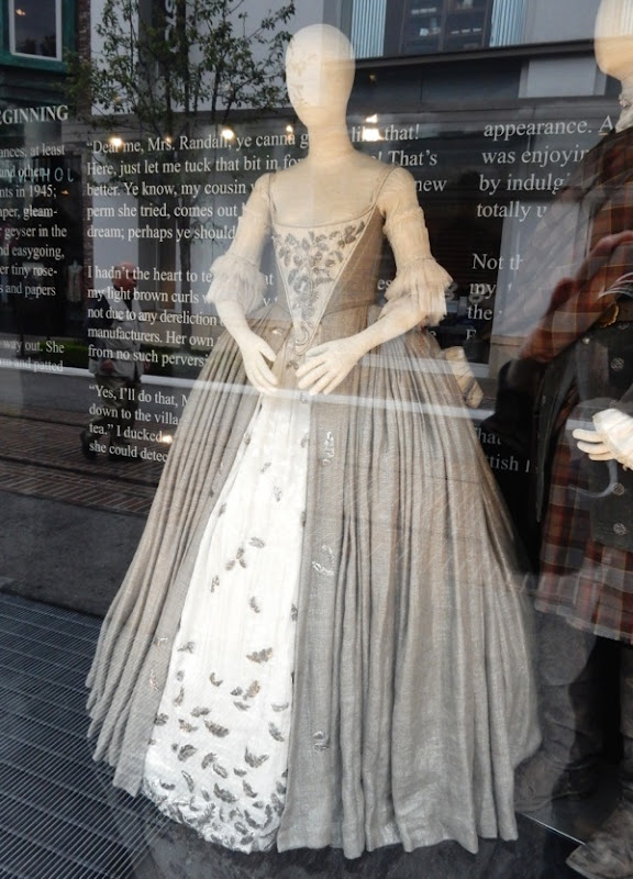 Claire Randall wedding dress Outlander