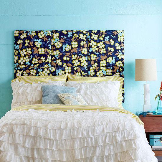 20 cabeceiras de cama decora o e inven o - Camas decoradas ...