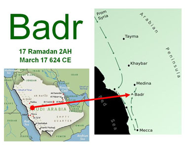 islam battle of badr The prophet ﷺ not content with merely establishing islam, organised expeditions  to  the battle of badr strengthened the faith of the muslims.