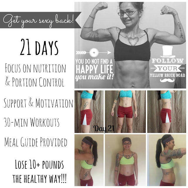 Simply D Constructed - 21 Day Fix