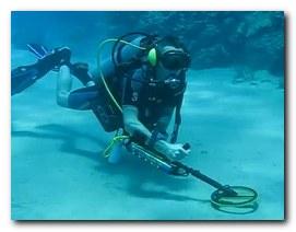 Металлоискатель под водой бумага советская