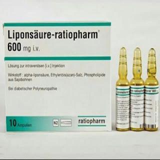 Liposaure Ratiopharm 600mg