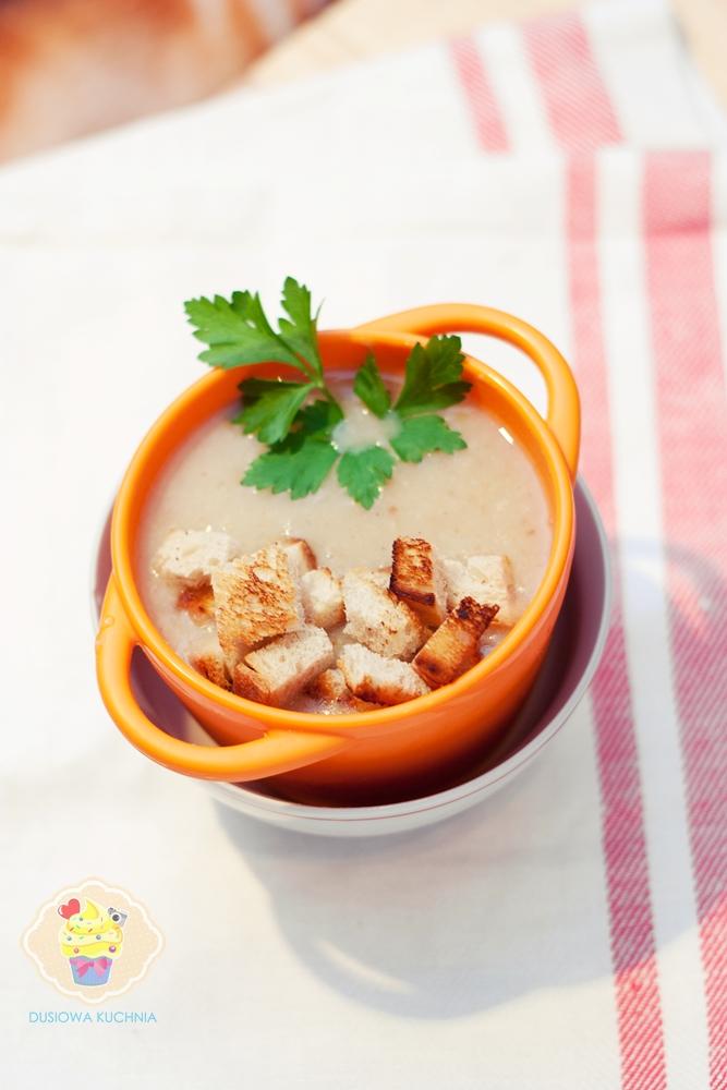 zupa z cebuli, krem z cebuli, prosta zupa z cebuli, krem cebulowy