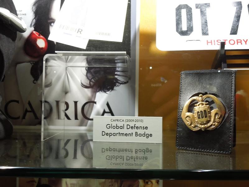 Caprica badge prop