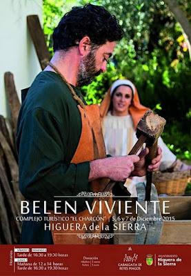 BELÉN VIVIENTE DE HIGUERA DE LA SIERRA 2015 - HUELVA