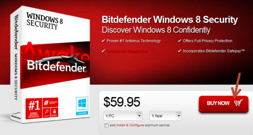 Free Bitdefender Windows 8 Security giveaway