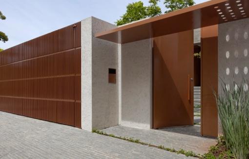 Serralheria na veia port o de entrada - Muros decorativos para exteriores ...