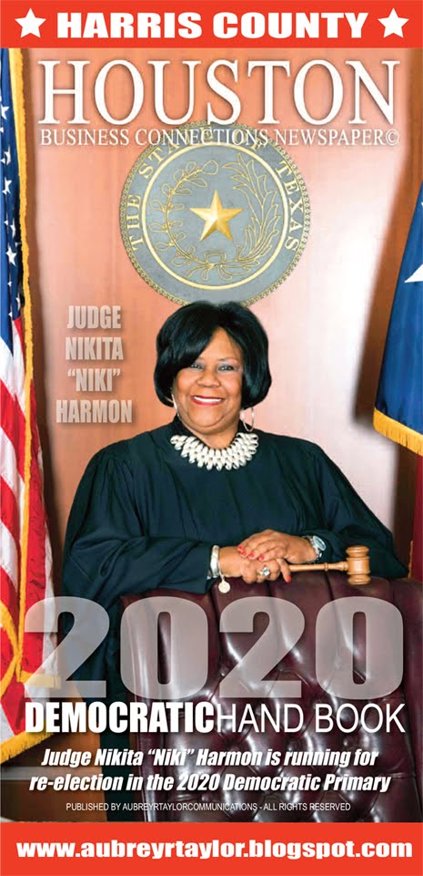 Judge Nikita Harmon is running for re-election in the 2020 Democratic Party Primary