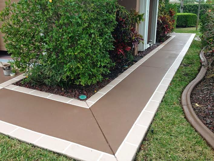 Vero beach painting faux finishes 772 801 9711 june 2014 for Can i paint asphalt driveway