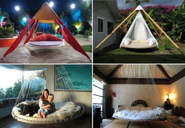 trampoline lit