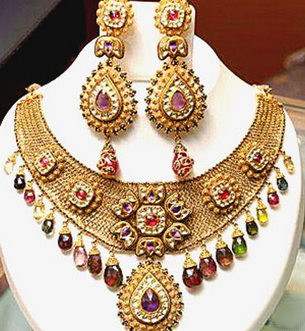 indian bridal jewelry set 2012 13 pakistani fashion