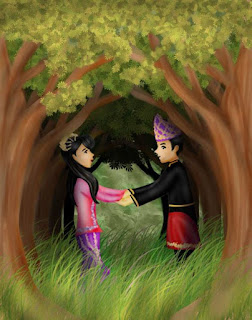 http://indonesianfolktales.com/blog/book/the-sacred-vow-of-the-chieftains-daughter/