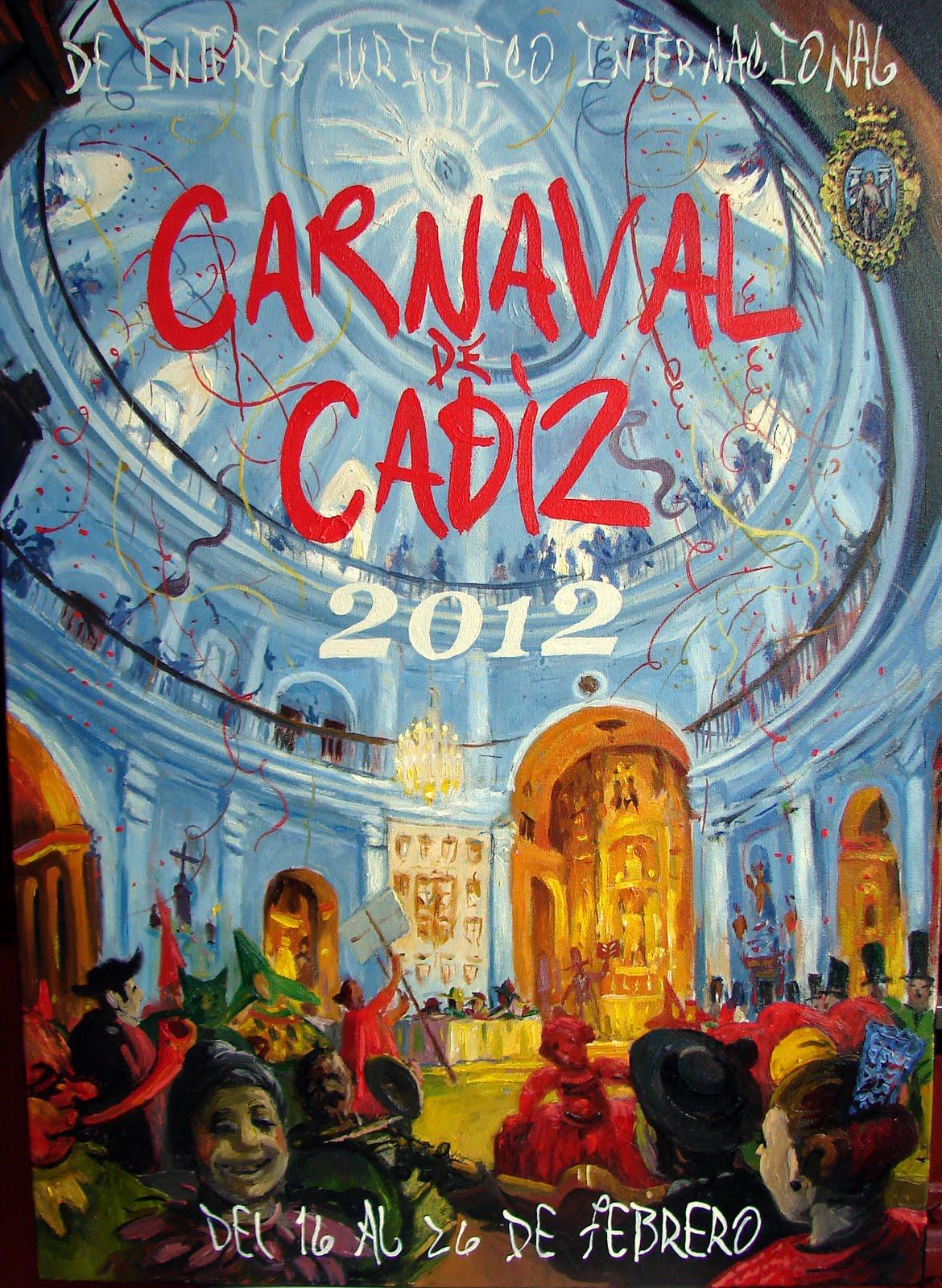 CARTEL DEL CARNAVAL DE CÁDIZ 2012