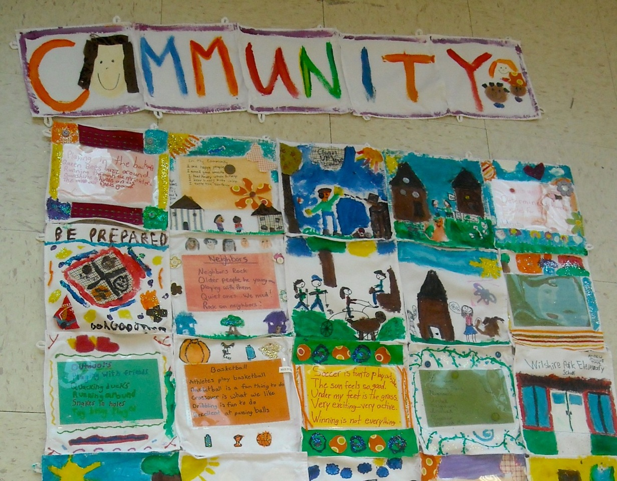 Art and Creativity: American Idol Quilt Creates Community : classroom quilt ideas - Adamdwight.com