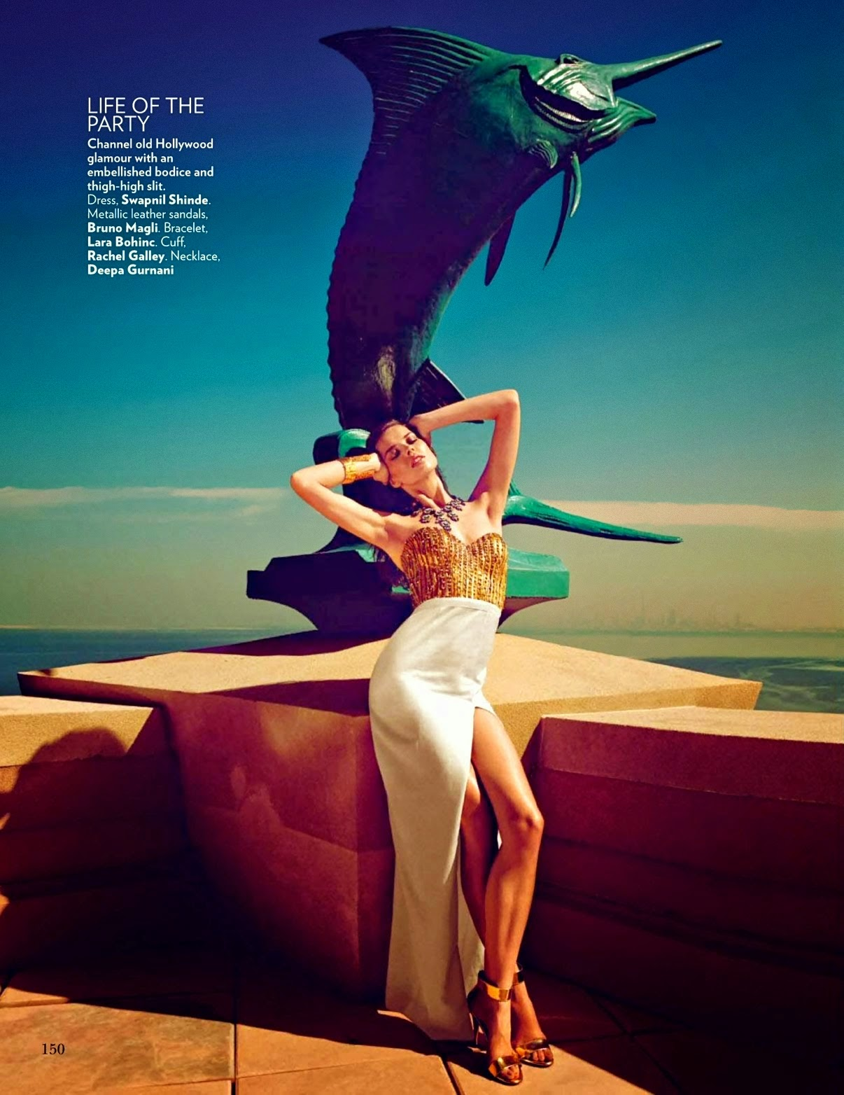 Ashika Pratt - Hot Photoshoot for Vogue India May 2014