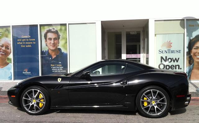 Black Ferrari Cars Hot Girls Wallpaper