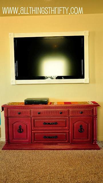 como fazer moldura para tv led plasma