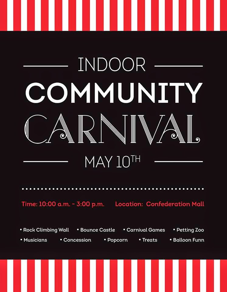 { community carnival at confederation mall }