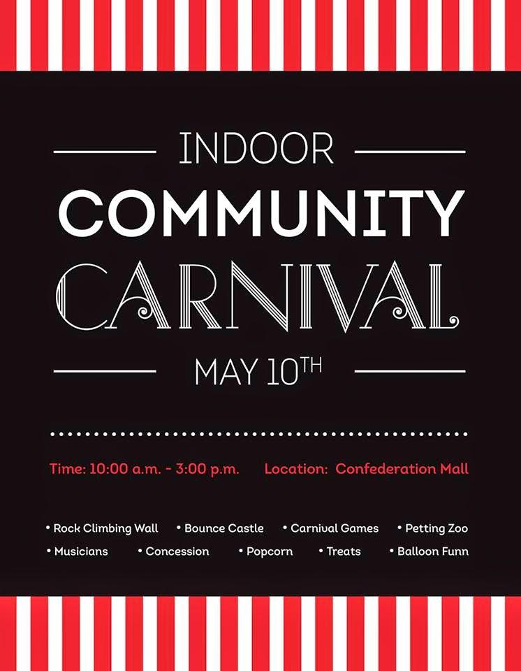 { community carnival at confederation mall }