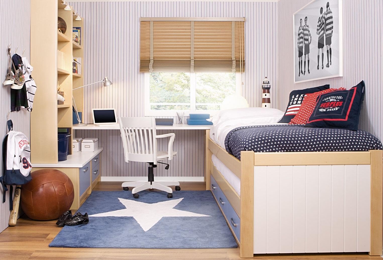 Casas americanas habitaciones juveniles - Habitaciones bebe pequenas ...