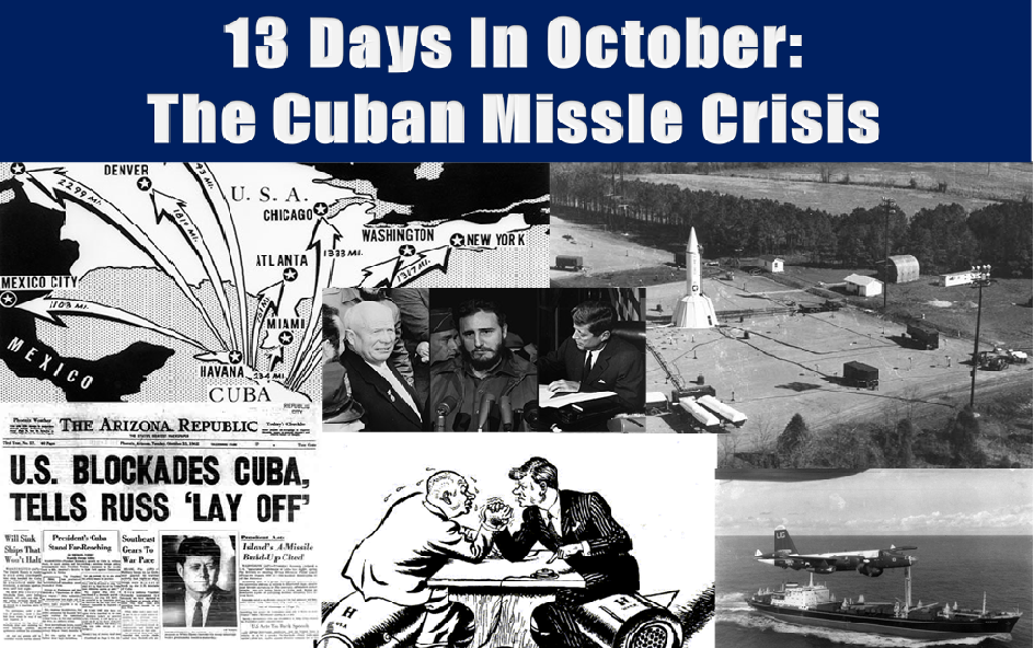 the cuban missile crisis essays Read this american history research paper and over 88,000 other research documents cuban missile crisis the cuban missile crisis the closest the world ever came to its own destruction was the event known to.