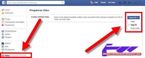 cara merubah video facebook dari HD ke SD