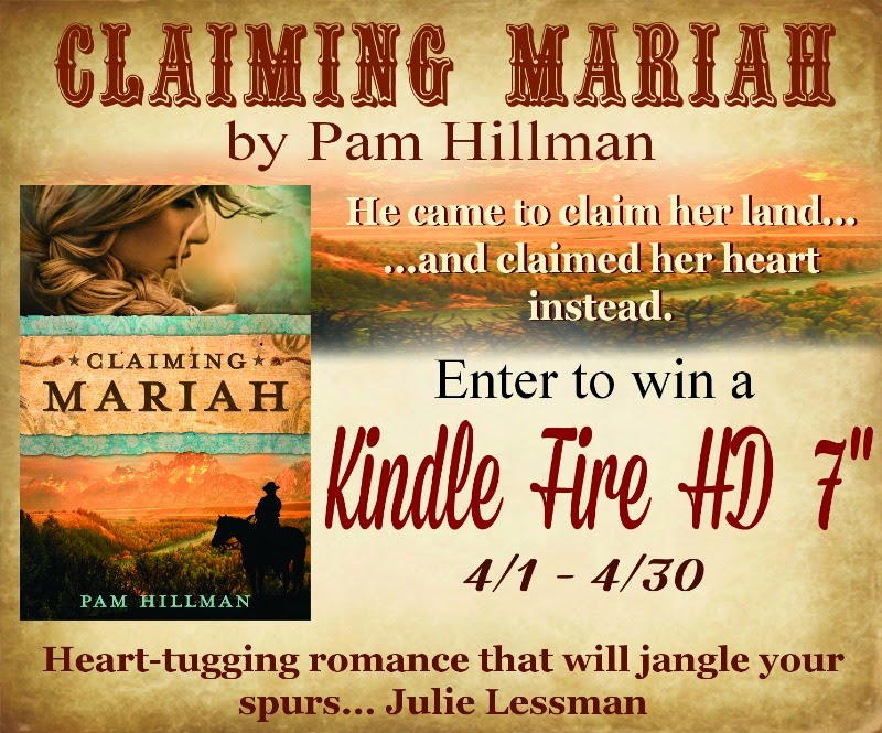 Enter Pam Hillman's Giveaway Using the Form Below!
