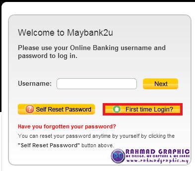 Beratnanang Cara Nak Daftar Tac Maybank2u
