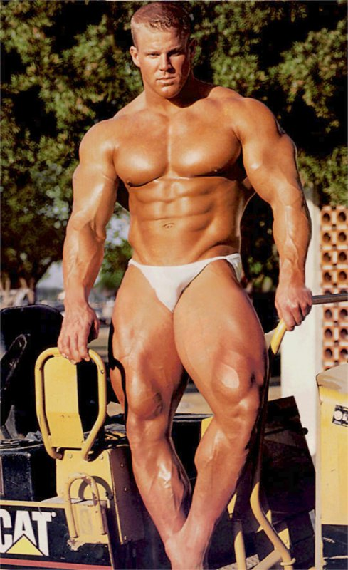 Bodybuilder Scott Klein. Our Advertisers: MORE MUSCLE MEN AND BODYBUILDERS