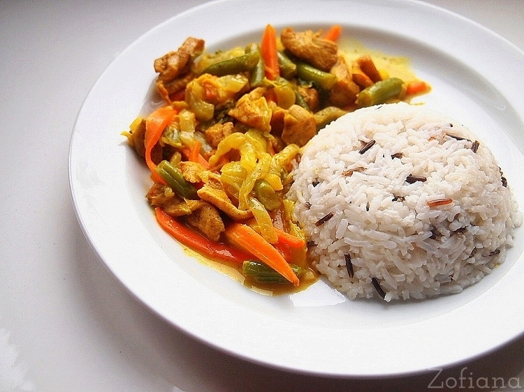 Coconut Chicken Curr