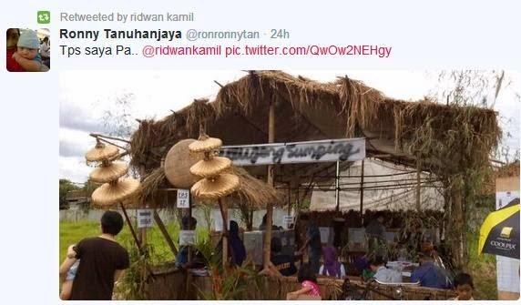 TPS Kreatif Dari Bandung dalam Pileg 2014 | Katabah Komarudin Tasdik