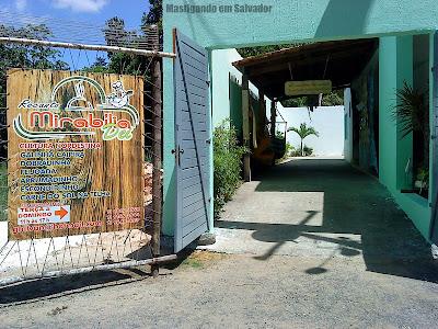 Recanto Miriabília Dei (Restaurante do Padre): Entrada
