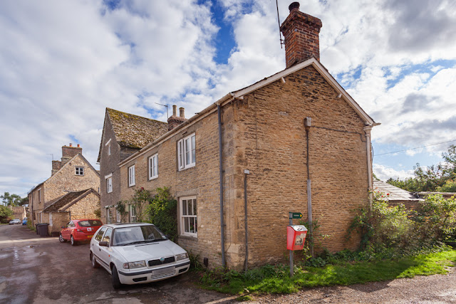 House in Bampton Oxfordshire used as the village post office in Downton Abbey by Martyn Ferry Photography