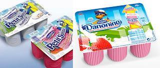 Los petit suisse pasaron a llamarse Danonino