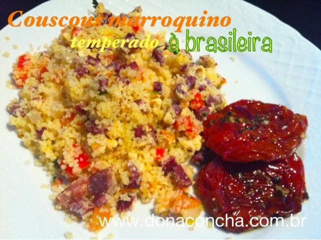 receita de cuscuz marroquino no blog dona concha