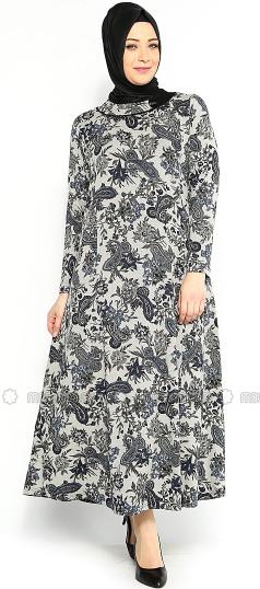 Model Baju Muslim Gemuk