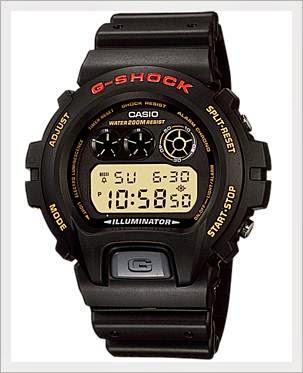 menu tombol pada jam tangan digital