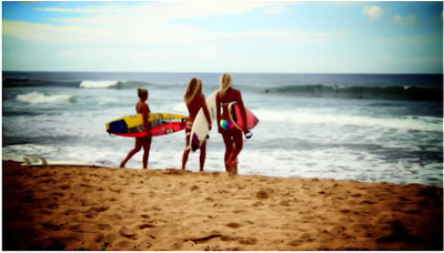 billabong girls team surf hawaii 2011 training camp