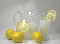 Limonada con stevia