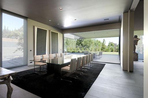 Salones De Lujo Modernos. Elegant Muebles De Comedor En Blanco ...