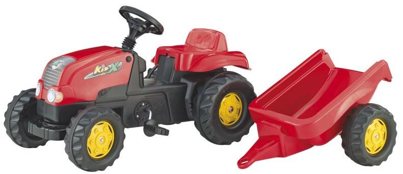 Trattore giocattolo per bambini a pedali JCB con ribaltabile frontale youtoys