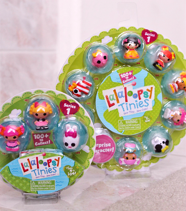 Collectible LaLaLoopsy Tinies Characters