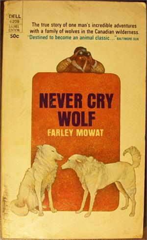 "an analysis of isolation in never cry wolf by farley mowat Farley, mowat's ""never cry wolf,"" is a book based on the the analysis of the book educates the never cry wolf essay example farley, mowat."