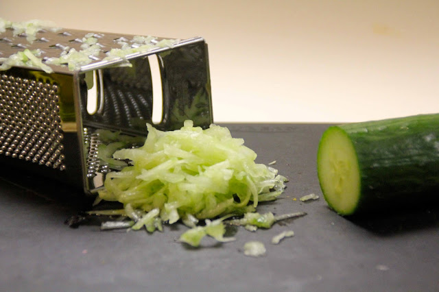 grated-cucumber