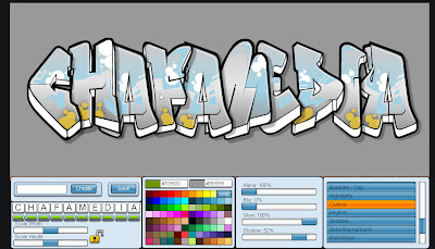 membuat graffiti secara online