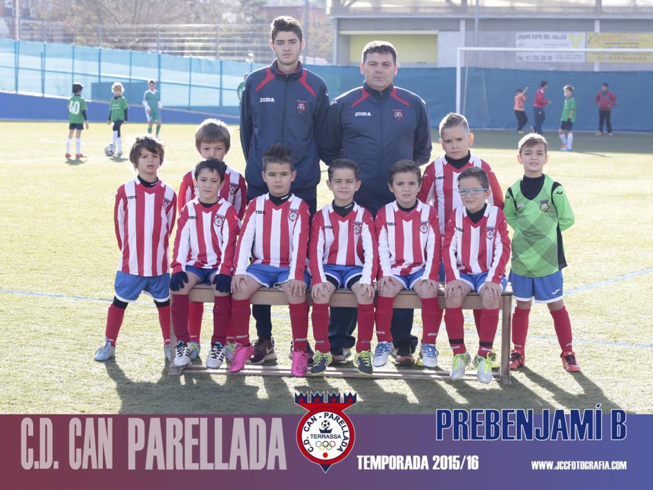 PREBENJAMÍN B - C.D.CAN PARELLADA TEMPORADA 2015 -16