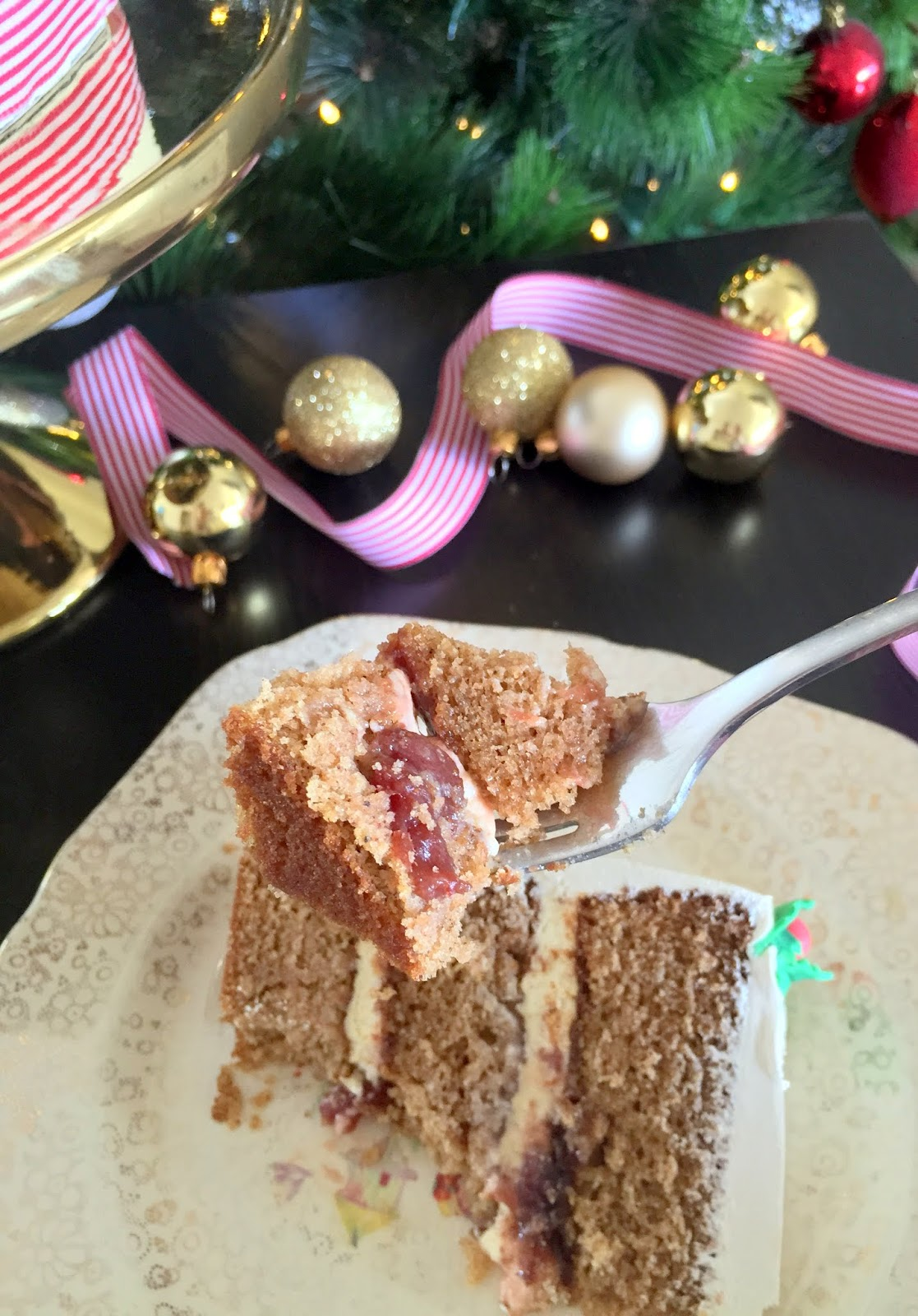 Eggnog Cake Cassie Cakes