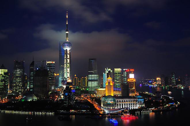 Xangai, a maior cidade da China